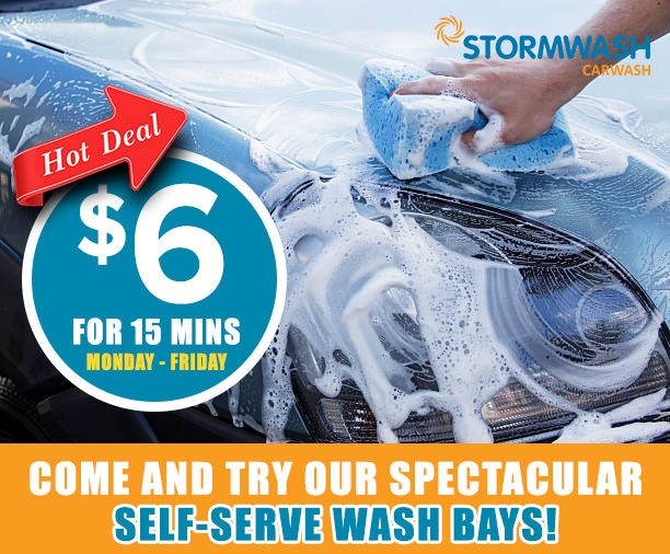 Self Serve Wash offer